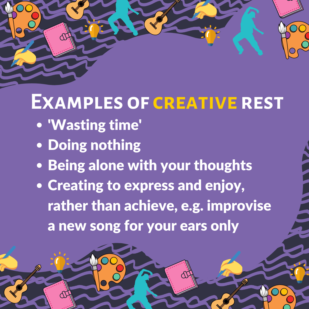 Creative rest