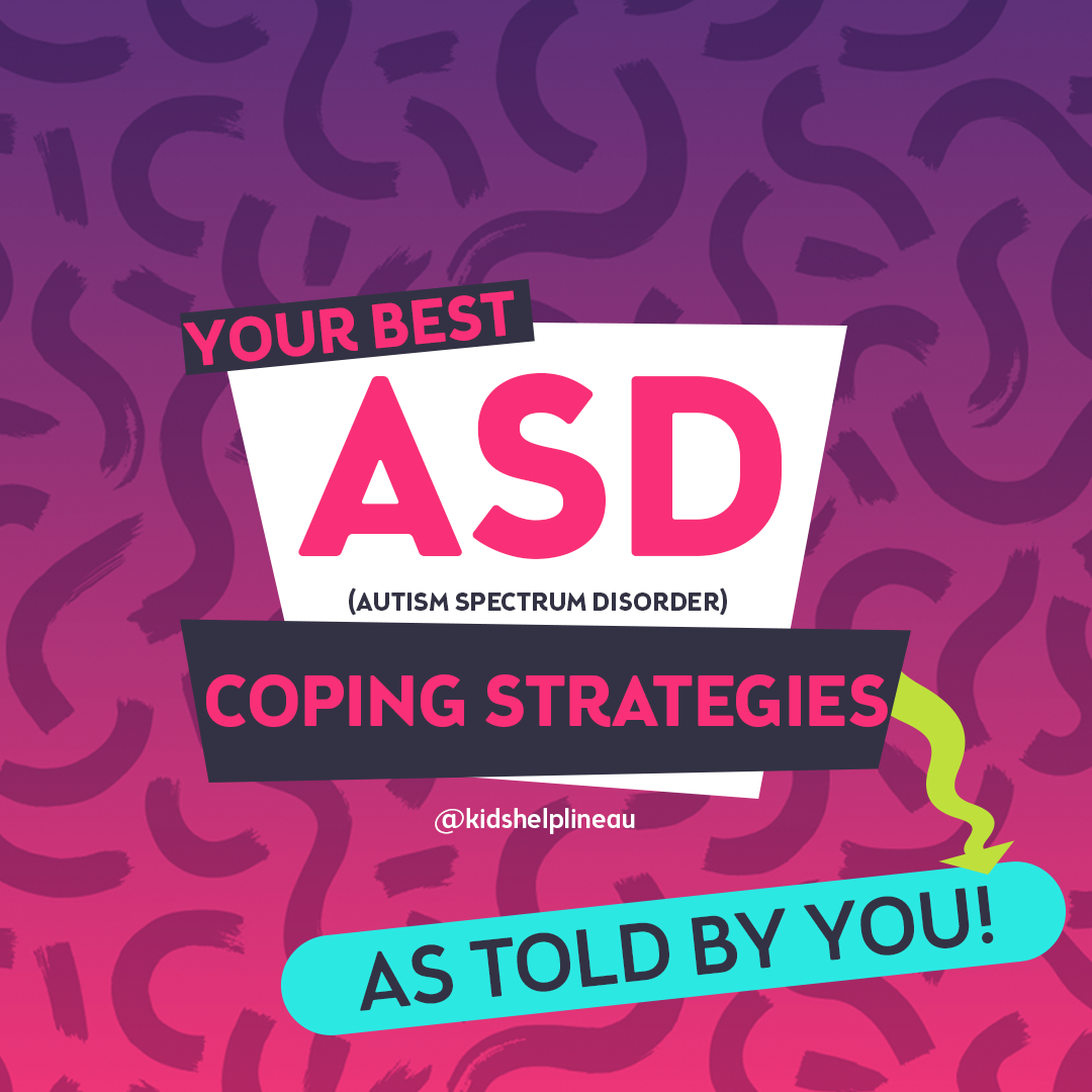 Autism coping strategies - as told by you
