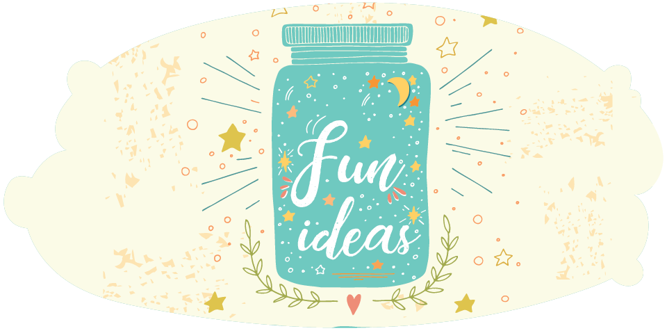 Jar labelled 'fun ideas'
