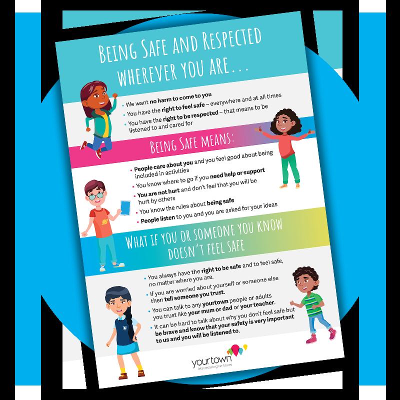 child safeguarding poster for kids