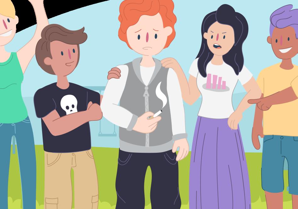 Helping Kids And Teens Cope With >> Peer Pressure Helping Kids Deal With Peer Pressure Kids Helpline